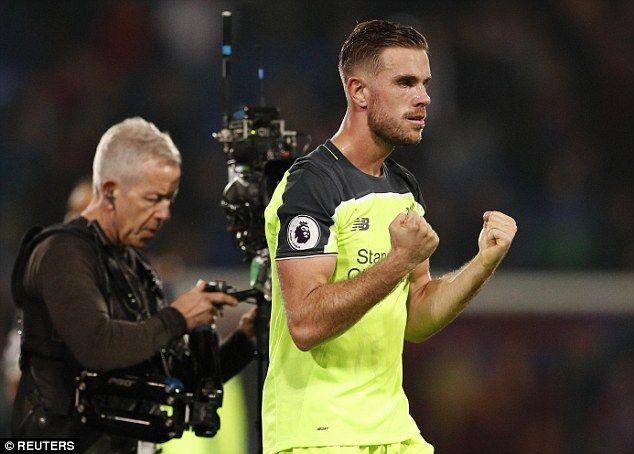 Liverpool captain Jordan Henderson tops the passing stats in the Premier League