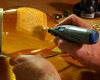 dremel engraved glass | Use your Dremel Stylus to etch glass vases for decoration or special ...