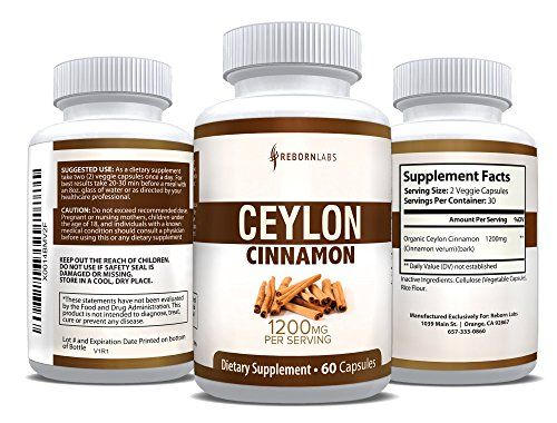 Organic Ceylon Cinnamon Capsules for Blood Sugar Support  Weight Loss  Healthier True Cinnamon Capsules from Sri Lanka  60 Cinnamon Pills  1200mg Cinnamon Bark Extract  Natural Supplement >>> See this great product.Note:It is affiliate link to Amazon.