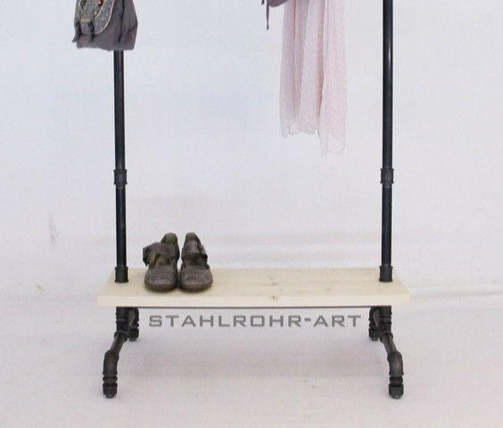 1000 bilder zu stahlrohr art auf pinterest schick. Black Bedroom Furniture Sets. Home Design Ideas