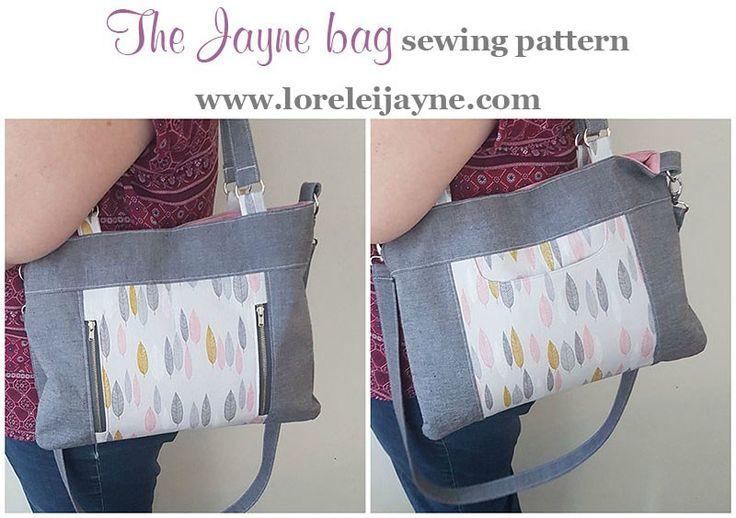 Jayne bag sewing pattern