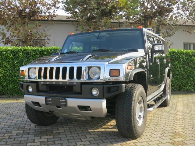 Hummer H2 6.2 V8  7 POSTI a 41.000 Euro   Fuoristrada   58.000 km   Benzina   293 Kw (398 Cv)   03/2008