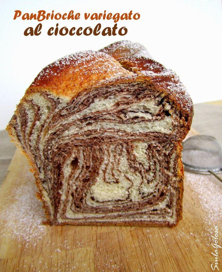 Siula Golosa: Panbrioche variegato al cioccolato