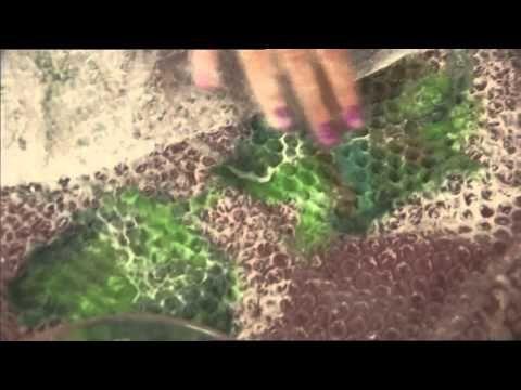 Plstené brošne-kvety - Felt flowers - YouTube
