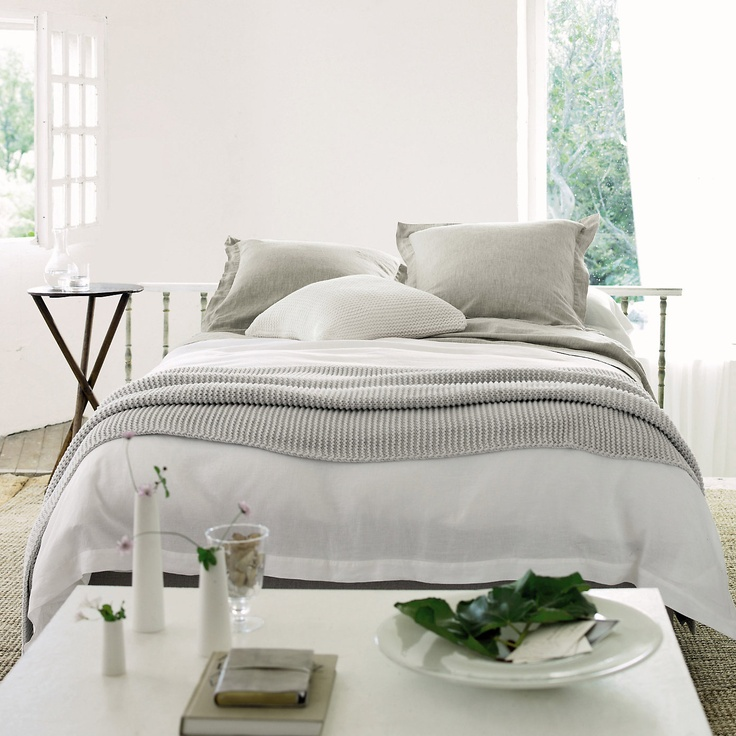 belgian washed bed linens