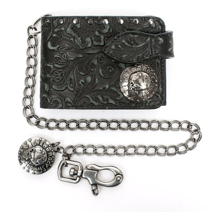 New Rock gothic genuine leather metal wallet. #newrock #wallet #goth #leather  You can purchase this wallet here: http://newrockaustralia.com/index.php?id_product=30605&controller=product