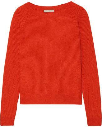 Shop Now - >  https://api.shopstyle.com/action/apiVisitRetailer?id=614755096&pid=uid6996-25233114-59 Vince - Ribbed Cashmere Sweater - Papaya  ...