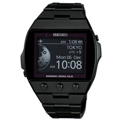 Seiko Digital Solar Atomic Watch