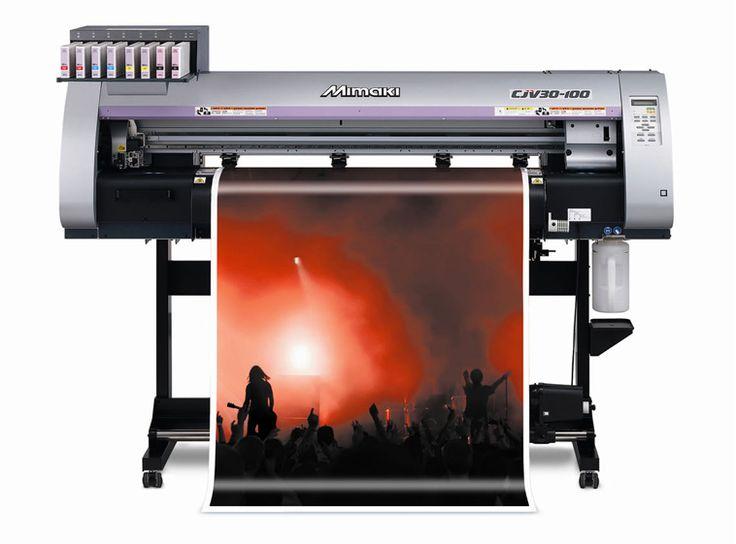 Mimaki CJV30-100 Print & Cut Machine