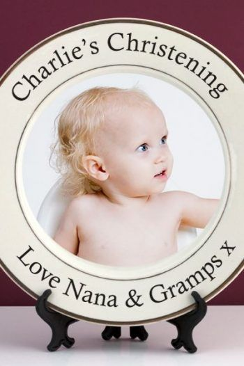 Personalised Christening Photo Plate 220x330 The best christening gift ideas