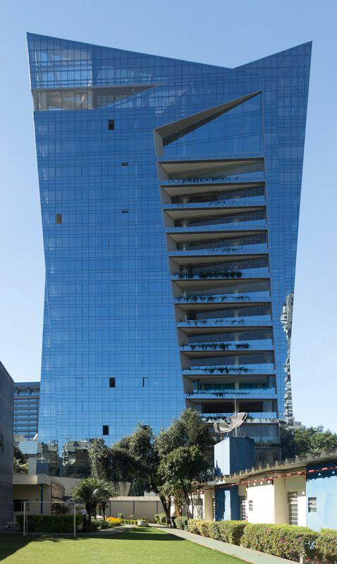 Studio Libeskind - Edifício Vitra, São Paulo ~ Incredible Engineering & Architecture