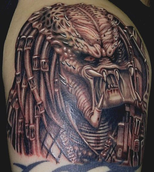 51 Deadliest Predator Tattoo Designs Ideas For Men: 82 Best Images About Predator Tattoos On Pinterest