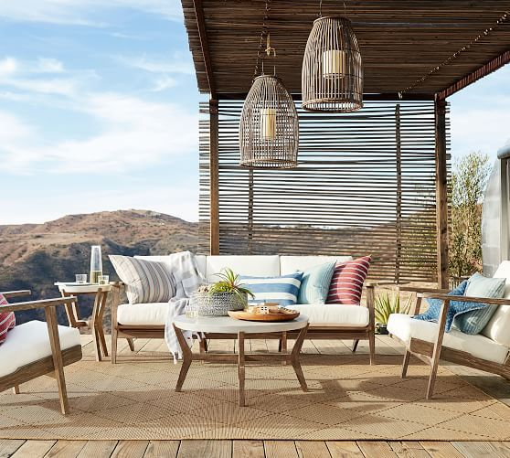 11 Best Pottery Barn Outdoor Sofas On Sale Garden Pottery Barn