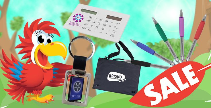 We have some great sales running on our store! You better act fast as its only available while stocks last! http://www.promoparrot.com/promotional-products-sale.html