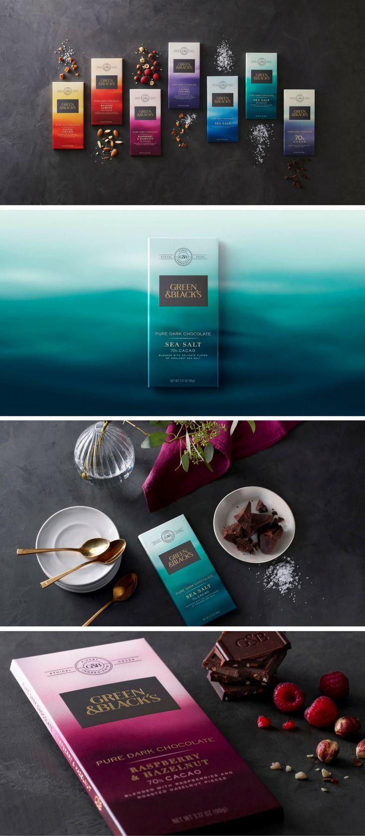 Green & Black's chocolate packaging by Bulletproof