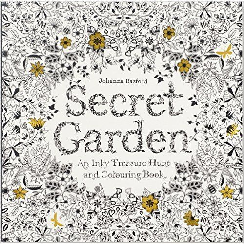 Secret Garden An Inky Treasure Coloring Book