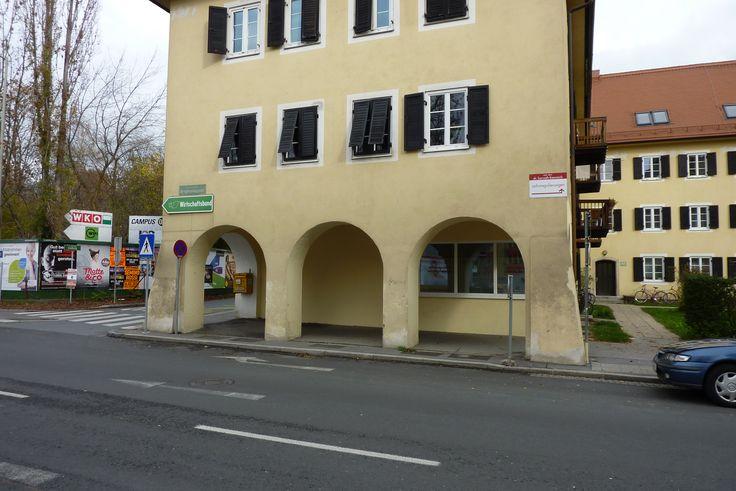 Filiale Nr. 150, Bergmanngasse 62: unter den Arkaden versteckt, heute erinnert so gut wie nichts mehr an den Lebensmittelladen im Geidorfviertel.