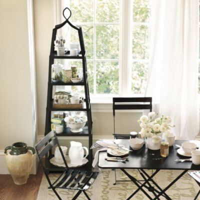 Grand tour tag re china display furniture and towels for Dining room etagere