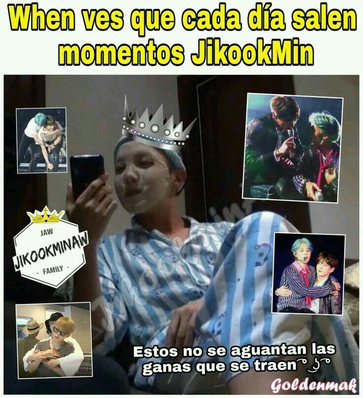Memes Jikookmin Jikook 18 7u7 2 Memes Memes Coreanos Bts Memes