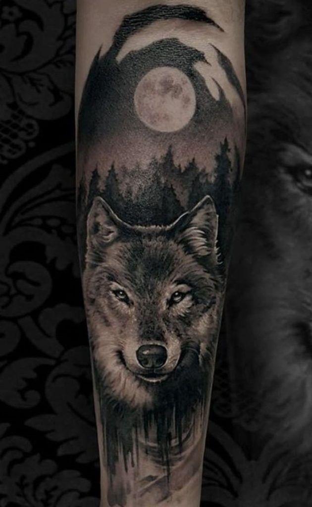 As 230 Melhores Tatuagens De Lobo Da Internet Femininas E