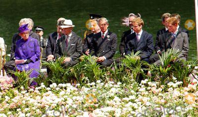 The Royal Family Opening Cermony of the Princess Diana Memorial Fountain - Hyde Park, London 7/6/2004 Photo By:brett Parker/globelinkuk/Globe Photos, Inc 2004