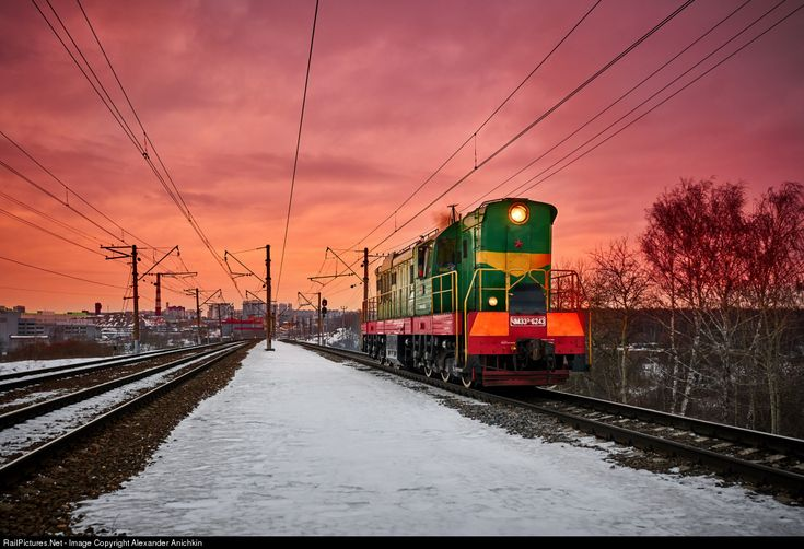 RailPictures.Net Photo: Russian Railways ChME3(3) at Moscow, Russia by Alexander Anichkin
