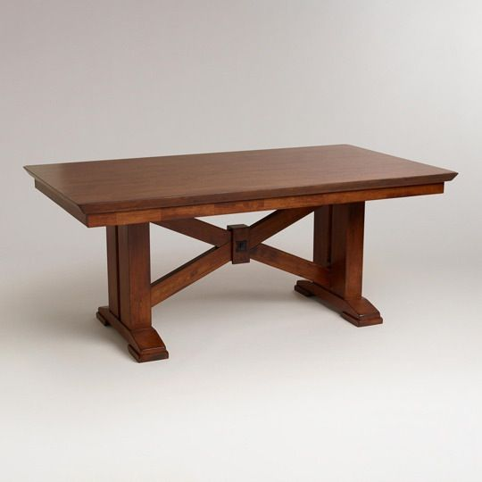 X Marks The Spot: 10 Cross Beam Dining Tables