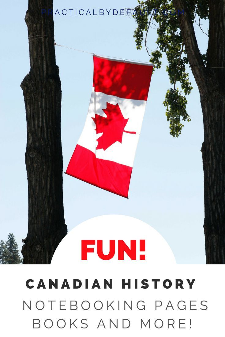 Canadian History often brings one word to mind: BORING! No one wants to learn about something boring. Make it fun again with these great homeschooling resources for all ages!  via @practicalbydefa