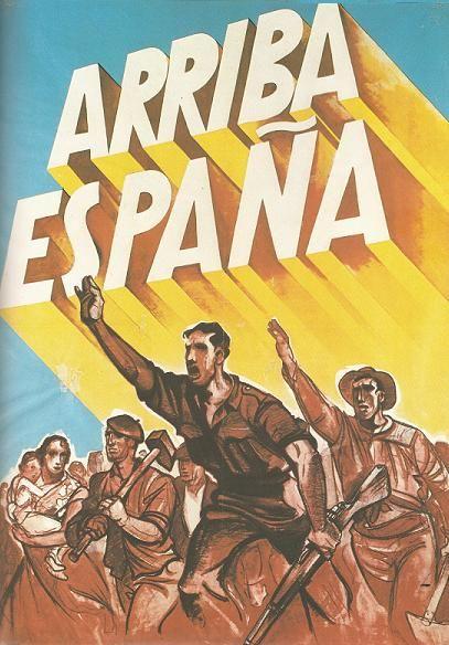 Cartel franquista.
