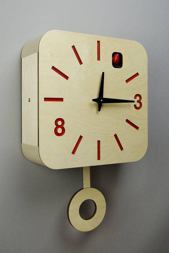 best 25 modern cuckoo clocks ideas on pinterest cuckoo clocks m m 39 s cuckoo wall clock and. Black Bedroom Furniture Sets. Home Design Ideas