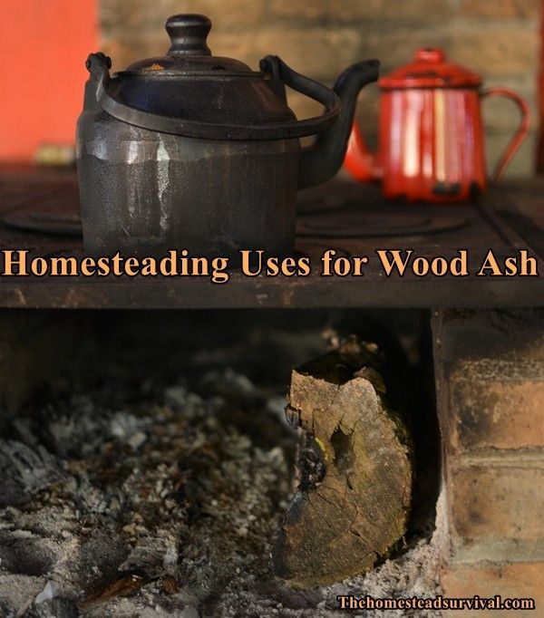 See the homesteading uses for wood ash. The ash from burned wood has many uses around a homestead.If you are considering homesteading and looking for ways