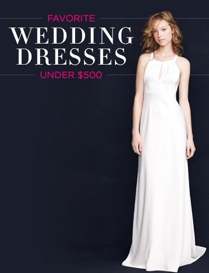 Wedding on a Budget: Best Dresses Under $500