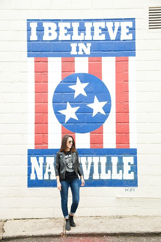 Nashville really is such a great city & I am thankful to have this gorgeous place toserve as the backdrop of many outfit photos for this blog. I used to plan my photoshoots around new murals (I need