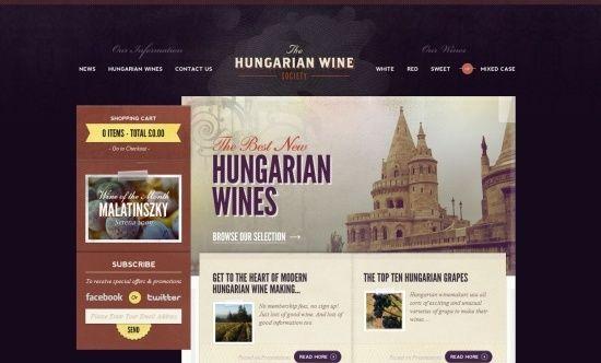 web: Webdesign, Hungarian Wine, Design Inspiration,  Internet Site, Web Design, Ecommerc Website, Web Site, Website Design, Wine Society