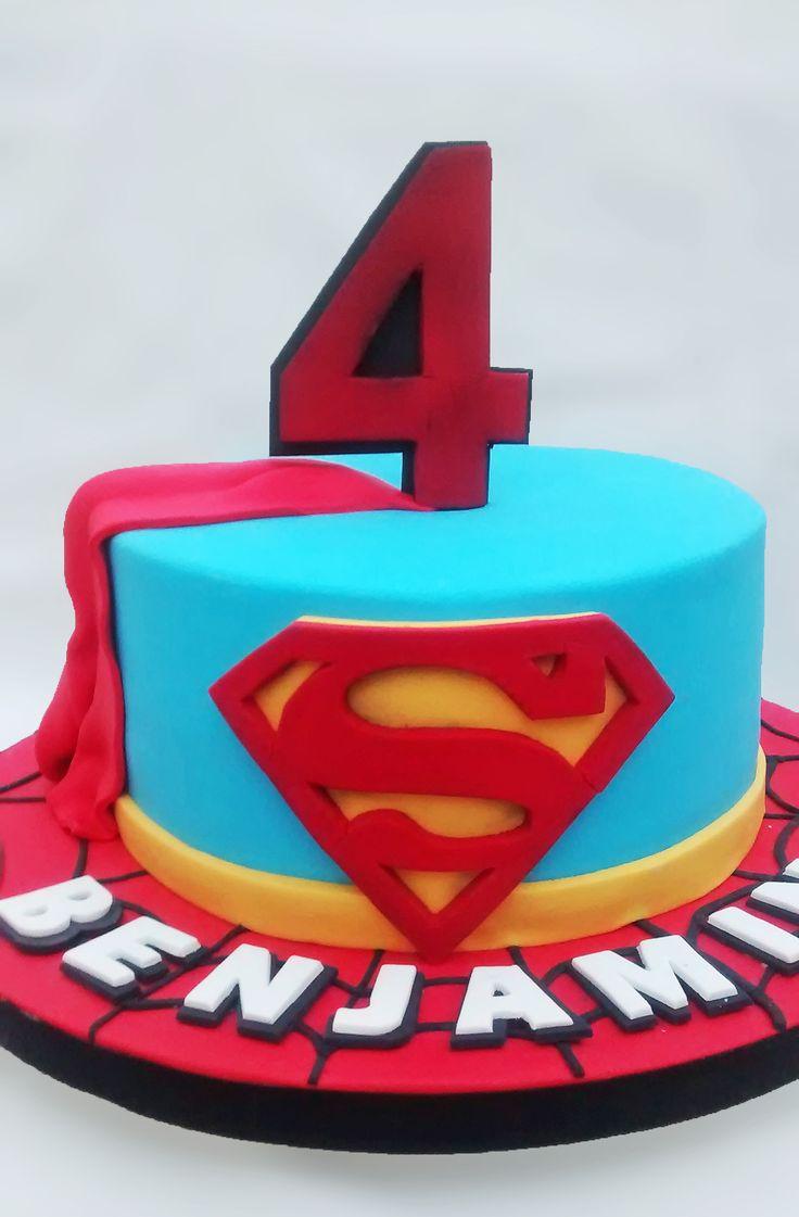pi di 25 fantastiche idee su superman torte di compleanno su pinterest compleanno a tema. Black Bedroom Furniture Sets. Home Design Ideas