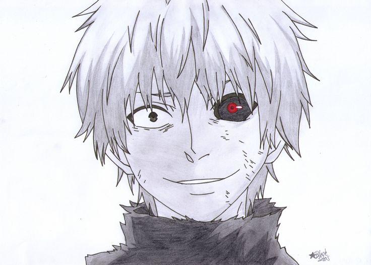 Kaneki Drawing - Google Search   Stuff   Pinterest   Tokyo Ghoul Tokyo And Anime