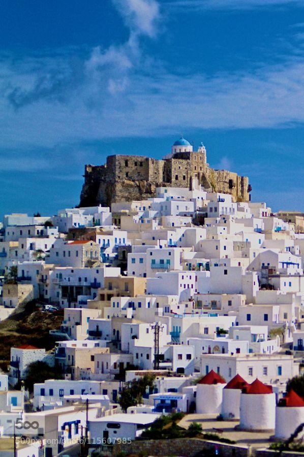 Island of Astypalea Greece by dimtsak