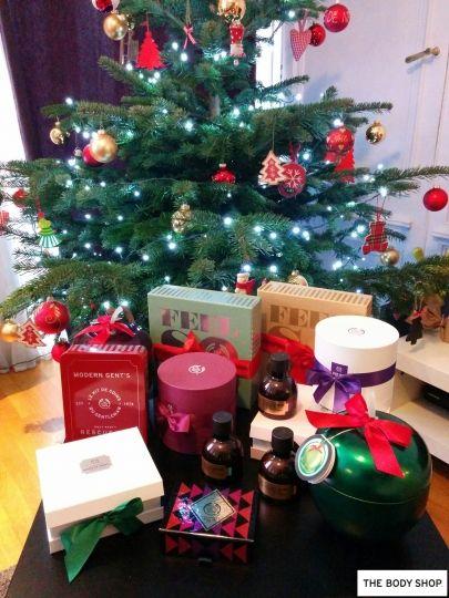 Les meilleurs cadeaux #TheBodyShop au pied du sapin de Noël !