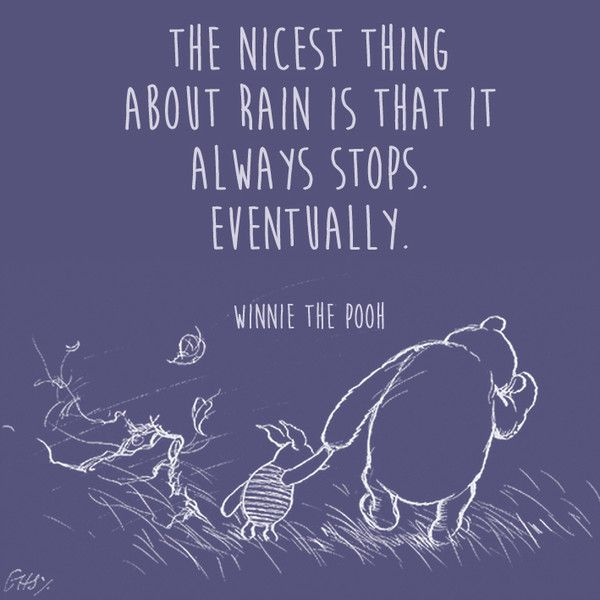 On Bad Days - Words of Wisdom from Winnie the Pooh - Photos