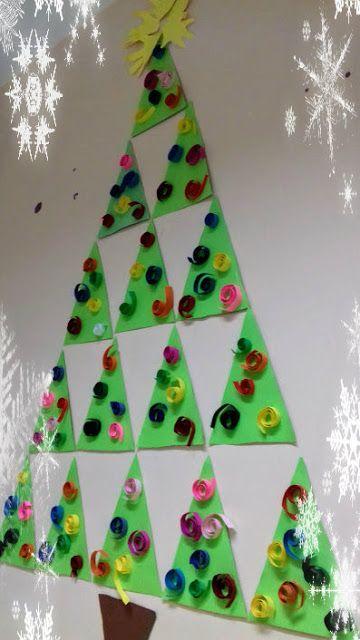 παιχνιδοκαμώματα στου νηπ/γειου τα δρώμενα: δεντράκια χριστουγεννιάτικα ......