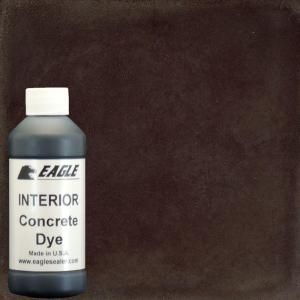 Eagle 1-gal. Root Beer Interior Concrete Dye Stain Makes with Water from 8 oz. Concentrate-EDIRB - The Home Depot