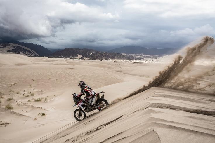 The Dunes in the Atacama desert Chile
