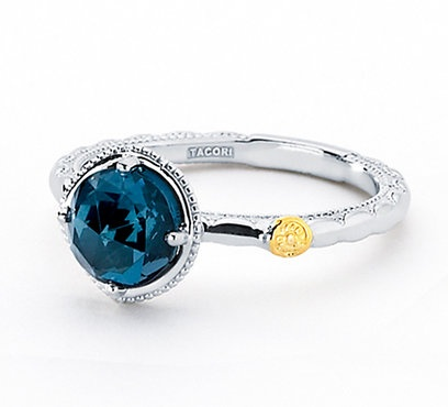 This is so beautiful!: London Blue Topaz, Blue Crescents, Tacori Rings, Style, Blue Diamond Rings, Blue Topaz Sooo, Gold Rings, Blue Diamonds Rings, Tacori London