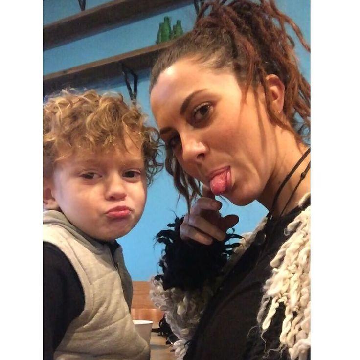 Love our mother and son coffee/milkshake dates  Best friends forever & ever!  #bestfriends #motherandson #littleman #Noah #love #coffeedate #milkshakedate #fishtalescafe #live3280 #eat3280 #dreadlocks #wonderlocks #dreadhead #dreads #lovethem by gemma.gill