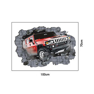 Vervoer Hummer muurstickers - EUR € 21.10