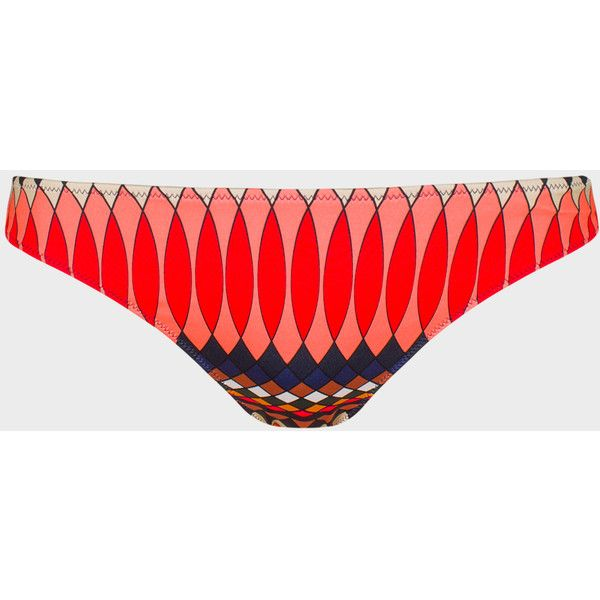 Paul Smith No.9 | Women's Multi-Coloured Bikini Bottoms (€63) ❤ liked on Polyvore featuring swimwear, bikinis, bikini bottoms, bottom bikini, patterned bikini, colorful bikini, swim bikini bottoms and multicolor bikini