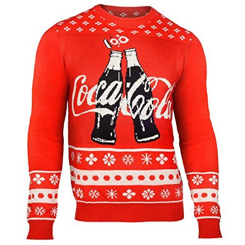 Coca Cola 2015 Ugly Crew Neck Holiday Sweater (Coca Cola 2 Bottles, Large) Klew http://www.amazon.com/dp/B013X9B42C/ref=cm_sw_r_pi_dp_gerywb1DZG082