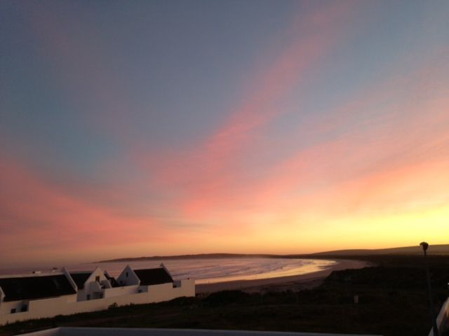 Dawn over Paternoster, South Africa