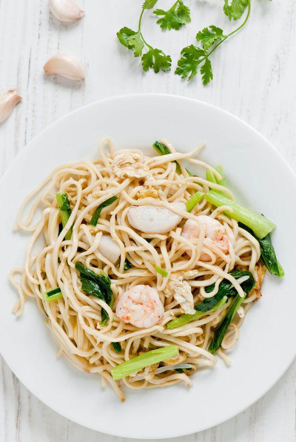Seafood Noodle Stir-fry
