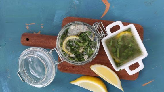 Лимонный маринад для рыбы и креветок. Пошаговый рецепт с фото на Gastronom.ru
